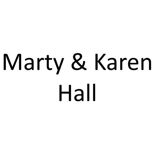 Marty and Karen Hall