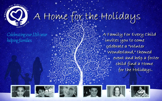 Click here to sign up for the Home for the Holidays Annual Event!